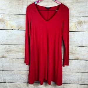 Red Express swing dress size S